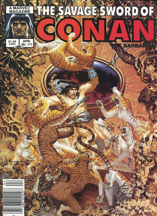 the savage sword of conan 111